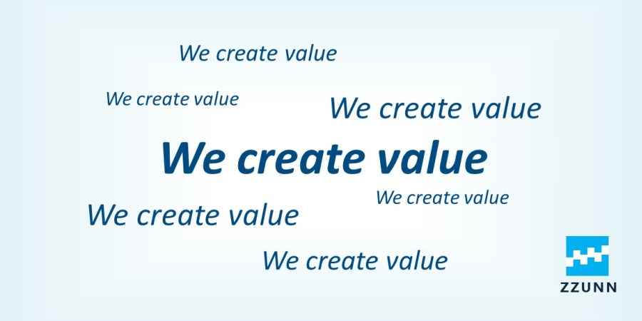 We Create Value